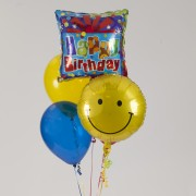 Two Mylar - 3 Latex Balloon Bouquet