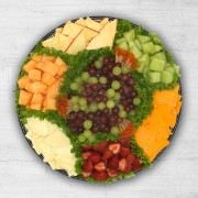 Fruit and Cheese Tray
