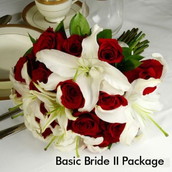 Red & White Wedding: Basic Bride II