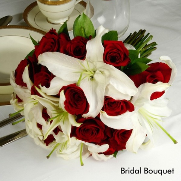 Red White Wedding Premium Bride