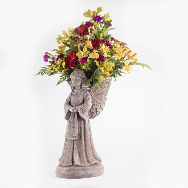 Angel Wing Planter Martin S Specialty Store Order Online Online Cake Amp Deli Orders