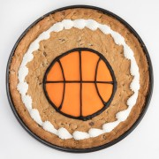 12 inch Basketball Cookie