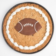 12 inch Football Cookie
