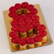 24ct Eight Cupcake Cake