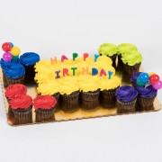 24ct Birthday Party Cupcake Cake
