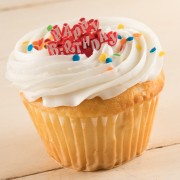 1ct Jumbo Happy Birthday Cupcake