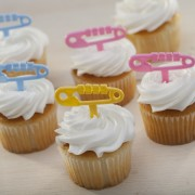 Safety Pin Cupcakes