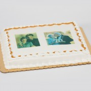 Two Portraits Cake