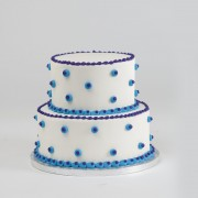 Stacked Dots Cake
