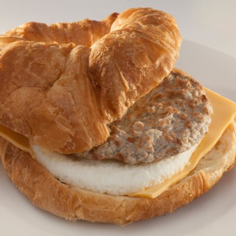 Sausage Egg & Cheese Croissant