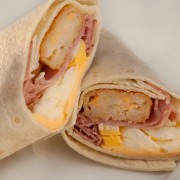Ham Breakfast Wrap