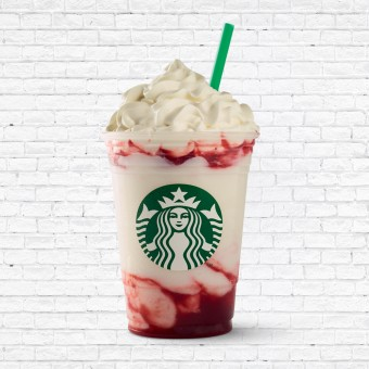 Strawberry Creme Frappuccino